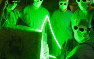 Операция с помощью лазера